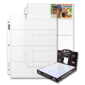 BCW Pro 8 Pocket Page (100ct) Box