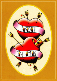 Angelique Houtkamp Greeting Card - You N' Me