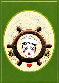 Angelique Houtkamp Greeting Card - Sailor