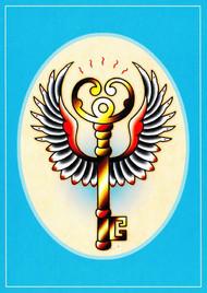 Angelique Houtkamp Greeting Card -  Key