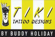 Tiki Tattoo Designs