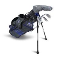 U.S. Kids Right Hand UL45-s 4 Club Stand Set, Grey/Blue Bag