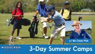 3 Day Summer Camps (Woodcreek Golf Club)