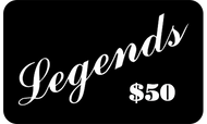 Legends $50 Gift Card