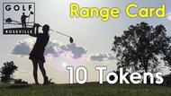 10 Token Card (450 Range Balls)