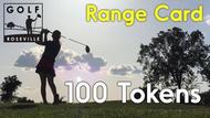 100 Token Range Card (4500 Range Balls)