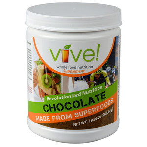Vive Whole Food Nutritional Supplement Single Canister - Chocolate