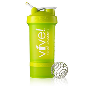 BlenderBottle® Vive Prostak 22oz. Shaker Bottle - Green & White
