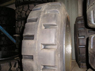 22X5X16 tires Super Solid forklift press-on traction tire USA Made 22516