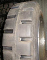 16X7X10-1/2 tires solid forklift press-on lug tire 16x7x10.5 (USA MADE) 16710