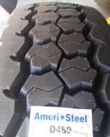 (4-Tires) 11R22.5 tires General D460 14PR tire 11/22.5 Ameri-Steel 11225 USA