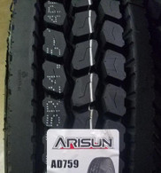 (4-Tires) 11r22.5 tires Arisun Drive Position 16PR tire 11/22.5 AD759 11225