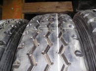 (8- Tires ) Retreads 11R24.5 Spread Axle trailer tire recap 11/24.5 Radial 11245