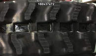 (2-Tracks) Kubota Rubber Track KH-007-(option 2) KH-008 KH-07 180x37x72 1803772