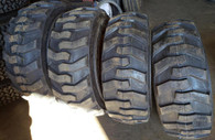 (4- Tires with Wheels ) John Deere model skid-steer with tire size 14-17.5 14175 JD models 280 317 325 326 328 332 240 250 260 270