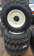4- Tires and Wheels skid-steer 12-PR snow tire 7.50-16 mounted and ready 75016