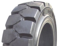 (4 Tires ) 2-Drive 8.25-15 & 2-Steer 7.00-12 General Service Solid Forklift Tire