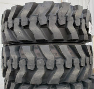 (2-Tires) 12.5/80-18 tires Side-Winder SSW 16PR DEEP TREAD back-hoe tire Samson 1258018