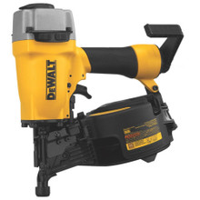 Dewalt  coil siding Nailer dw66C nail gun w/case factory reconditioned