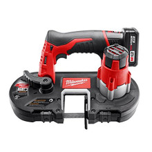 MILWAUKEE M12 2429-21xc Cordless Sub-Compact Band Saw Kit NEW