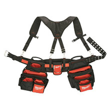 Milwaukee 48-22-8120 Contractor Work Belt w/ Suspension Rig Toolbelt NEW