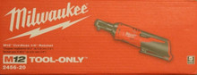 """Have one to sell? Sell now Milwaukee 2456-20 M12 12 Volt 1/4""""Cordless Drive Ratchet (Tool only) NEW"""