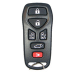 Nissan Quest Keyless Entry Remote Transmitter. 6 Button SUV Refurbished