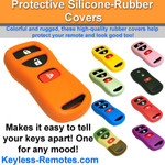 Nissan and Infiniti Keyless Entry Remote Protective Silicone-Rubber Cover 3 Button