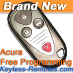 Acura CL TL and RL Keyless Entry Remote New