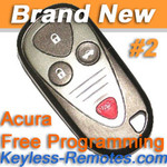 Acura CL TL and RL Keyless Entry Remote Memory #2 New