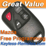 Mazda Keyless Entry Remote.  RX-8 Early Production. Refurbished