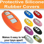 Nissan & Infiniti Intelligent Key Silicone Cover 3-Button