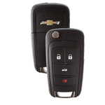 Chevrolet Flip Key Remote 4 Button
