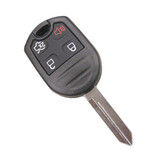 Remote Head Keyless Entry Remote Key Fob for Ford 4 Button with trunk.