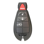 New Genuine OEM Dodge Keyless Entry Remote FOBIK NON-PROX 4 Button Trunk
