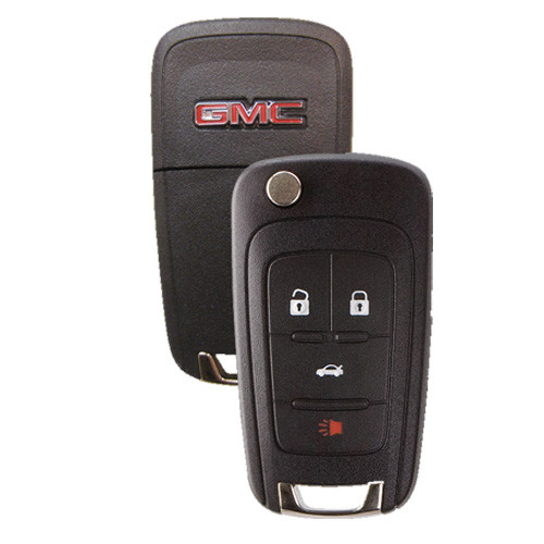 Gm Key Fob >> Gmc Terrain Flip Key Remote Fob 4 Button