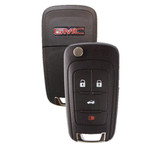 GMC Terrain Flip Key Remote Fob 4 Button