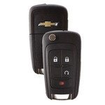 Chevrolet Flip Key Remote 4-button