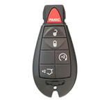 New Genuine OEM Keyless Entry Remote for Jeep FOBIK 5 Button Remote Start