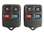 2 New Remotes Key Fobs for Ford 4 Button