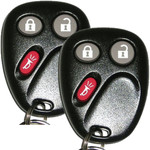 2 Keyless Entry Remotes Key Fob Replacements for LHJ011