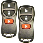 2 Keyless Entry Remote Replacement Key Fobs for Nissan and Infiniti KBRASTU15