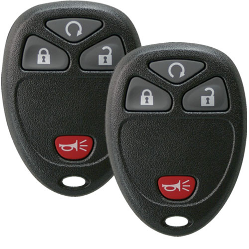 2 Keyless Entry Remote Key Fobs for GM, Chevrolet, GMC 15913421 with Remote  Start