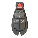 Chrysler OEM Refurbished Keyless Remote Key Fob FOBIK NON-PROX 5 Button Remote Start