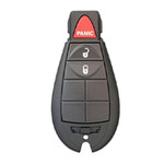 Refurbished OEM Keyless Entry Remote for Jeep FOBIK 3 Button