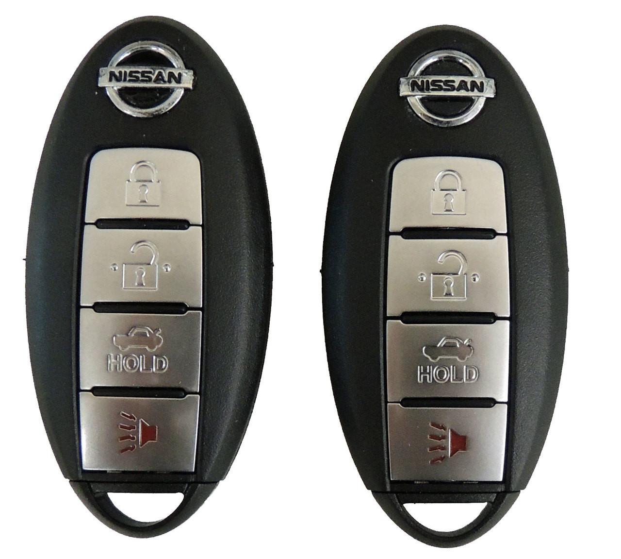 Nissan Intelligent Key >> 2 Keyless Entry Remote Smart Keys For Nissan Altima And Maxima Intelligent Key Kr55wk48903