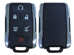 Chevrolet Tahoe, Suburban and GMC Yukon 2015-2019 6 Button Keyless Entry Remote Key Fob with Remote Start