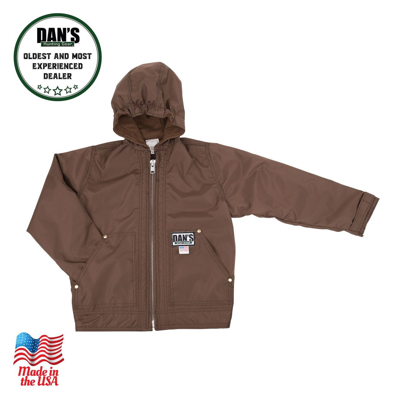c20f358a01891 Dan's Hunting Gear - K401 Kid's Hooded Coat - Windwalker Outdoors