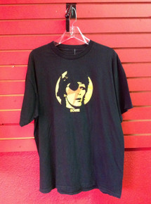 David Bowie Ziggy Stardust with Eyepatch T-Shirt in XL