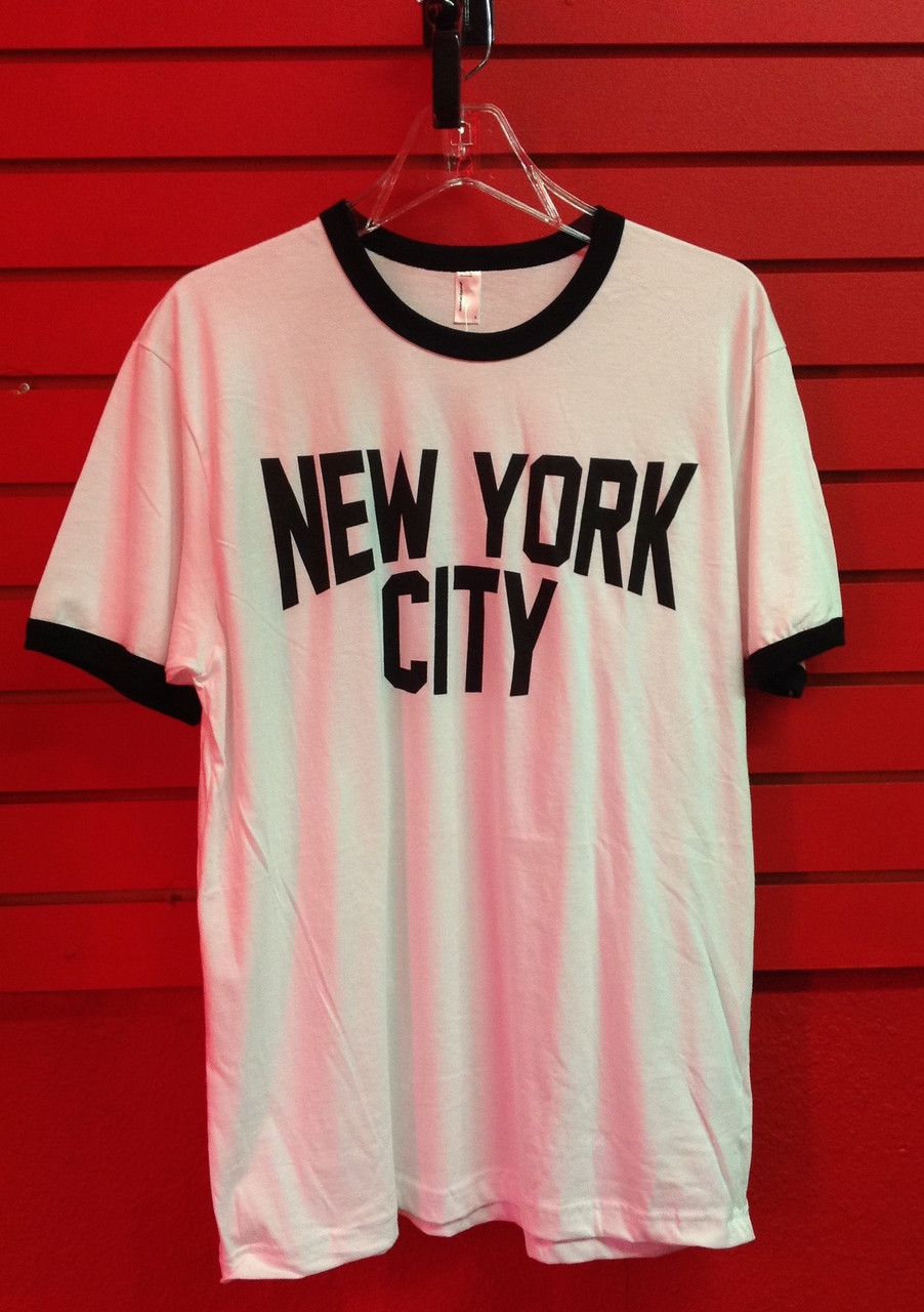 John Lennon New York City Ringer T- Shirt f63f9c1f2cd